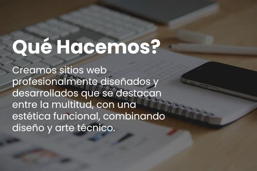 desarrollo de sitios web. páginas web autoadministrables