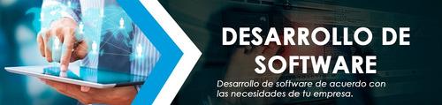 desarrollo de software sistemas aplicaciones paginas web