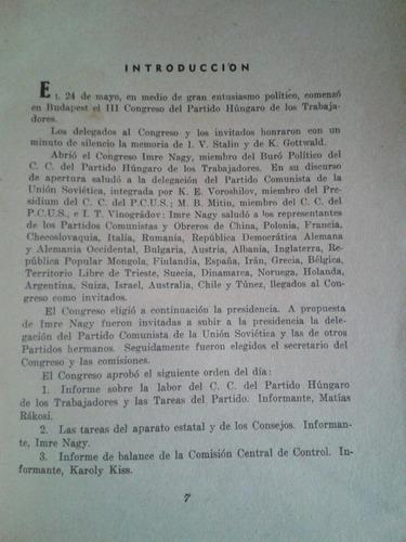 desarrollo democracia popular húngara voroshilov rakosi
