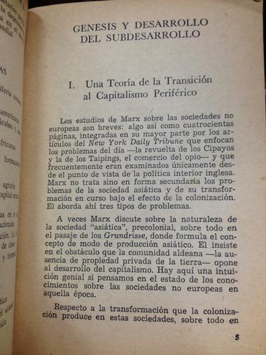 desarrollo desigual - samir amin - editorial marxista
