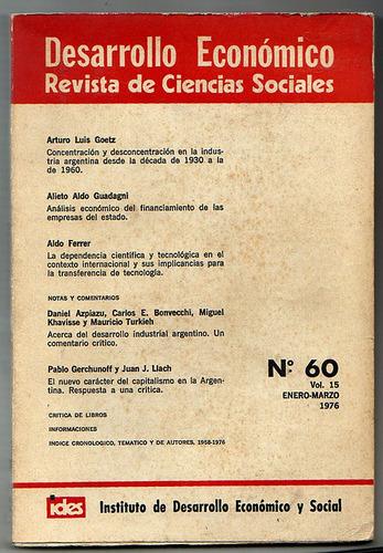desarrollo economico 60, enero-marzo 1976