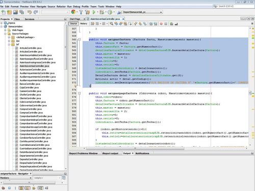 desarrollo o modificación web