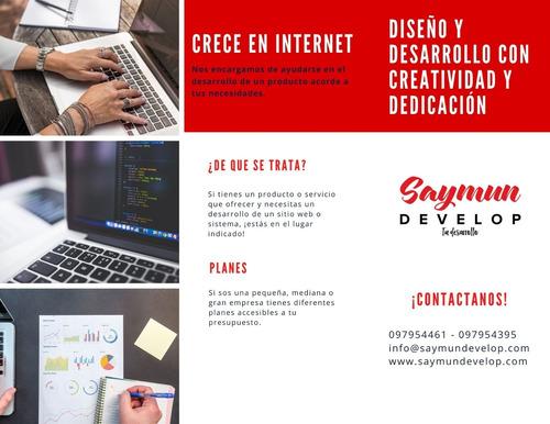 desarrollo sitios web y aplicaciones
