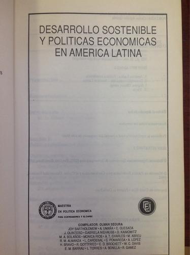 desarrollo sostenible y políticas económicas en américa lati