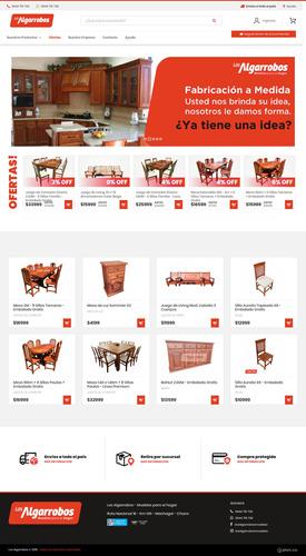 desarrollo tienda online - diseño web - ecommerce las 24hs