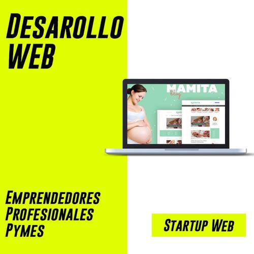desarrollo web - diseño web - plan startup -