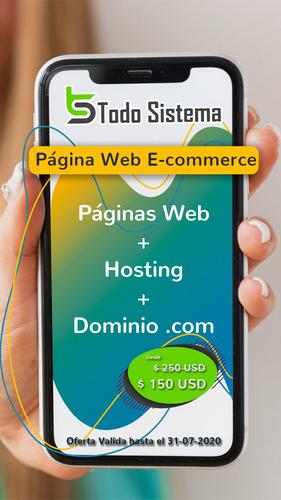 desarrollo y diseño de páginas web e-commerce
