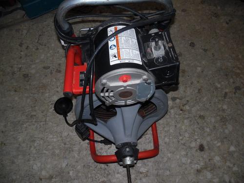 desasolvadora  de drenaje. marca ridgid k40
