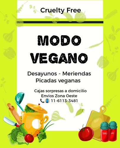 desayu-meriendas y picadas veganas!sorpresas-regalar