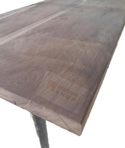desayunador-barra-de madera dura, entablonado,maciza 3cm esp - mader shop