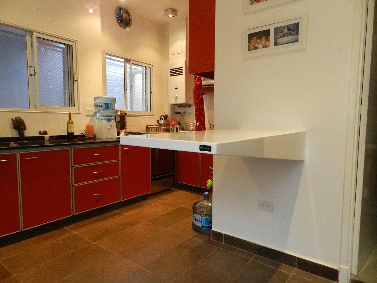 Desayunador Barra Diseño Moderno Cocina - $ 13.064,04 en Mercado Libre