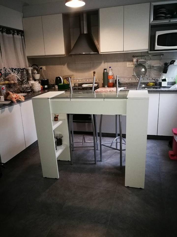 Mueble Barra Cocina. Cheap Barras De Cocina Qu Altura Es La Correcta ...