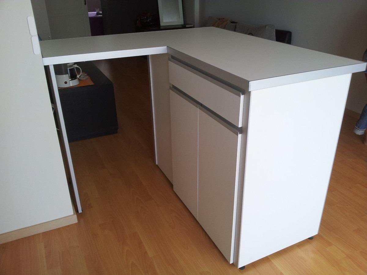 Mueble barra cocina fabulous cocina estilo americano - Mueble barra cocina ...