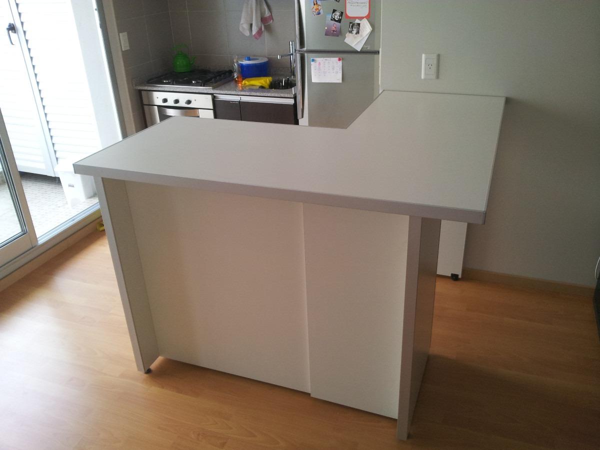 Mueble barra cocina durlock muebles cocina buscar con for Mueble barra cocina
