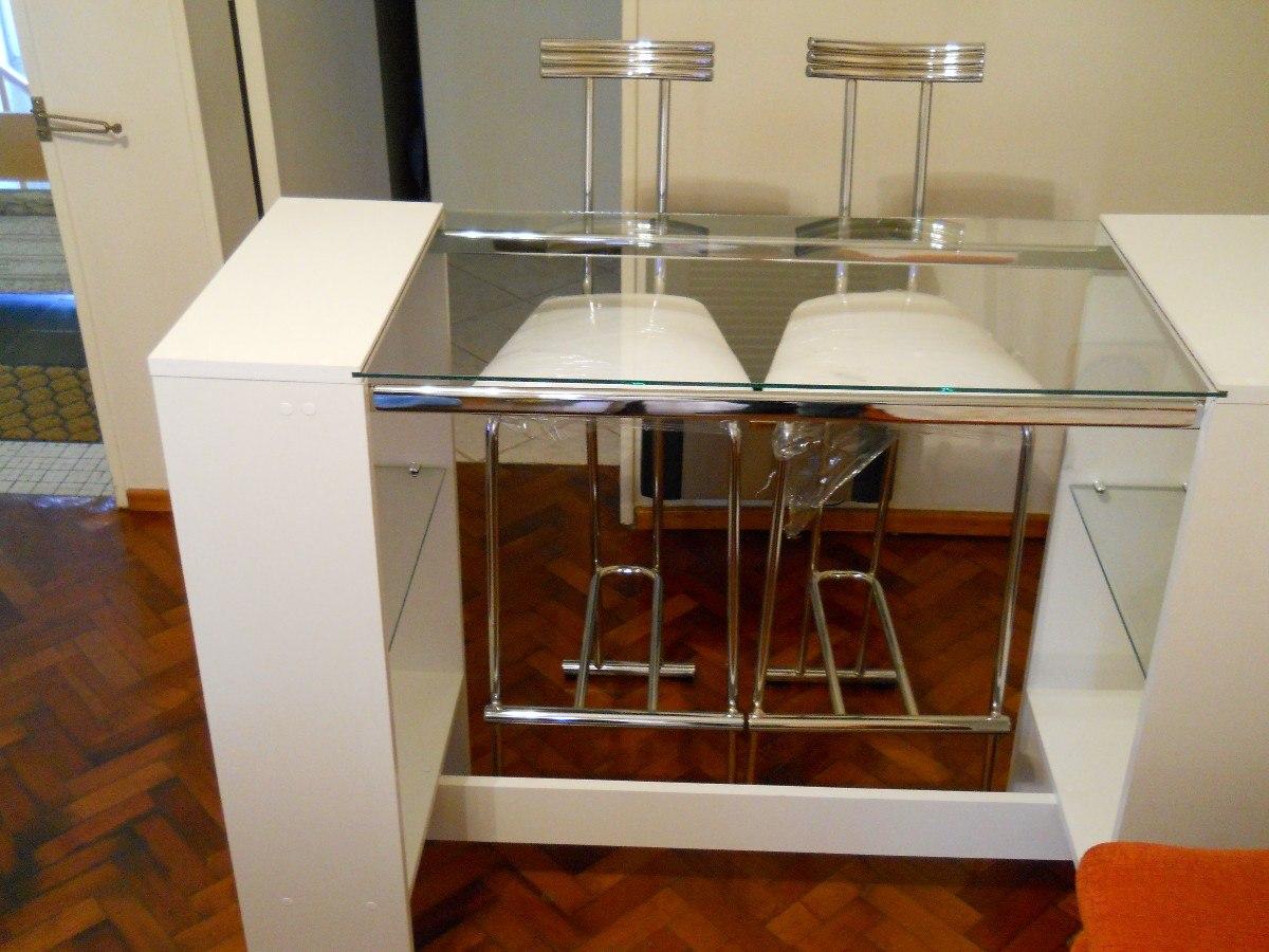 Desayunador Barra Para Cocina Comedor Living - $ 2.600,00 en Mercado ...