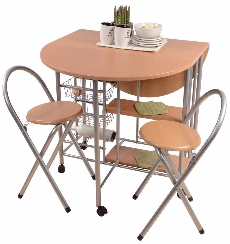desayunador mesa auxiliar de cocina plegable c 2