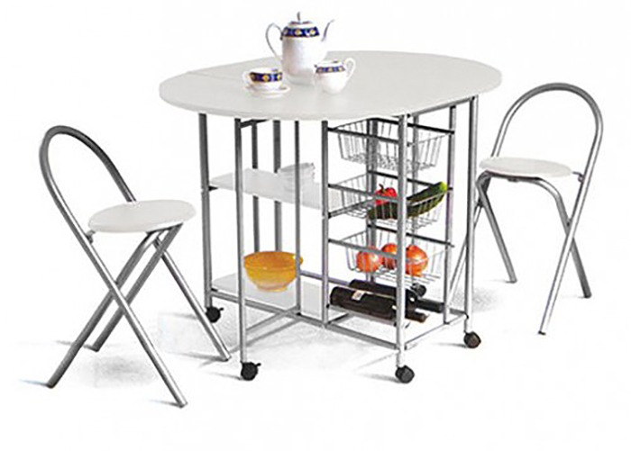 Mesas auxiliares para cocina fabulous hemera carritos for Mesa auxiliar para cocina