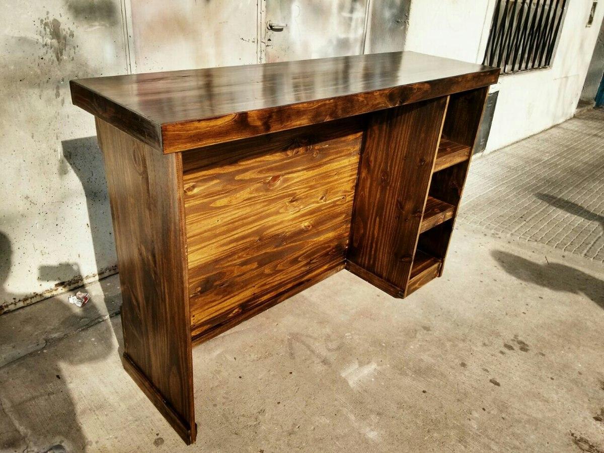Como hacer una barra de cocina great madera y piedra para la barra with como hacer una barra de - Barra cocina madera ...