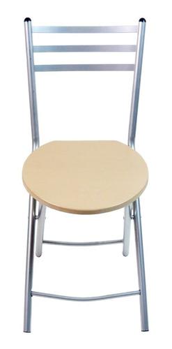 desayunador plegable con 2 sillas maple