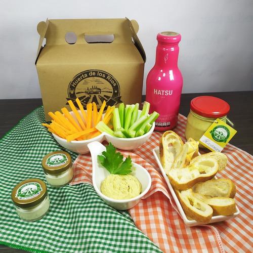 desayuno, almuerzo, onces, cena - sorpresa en caja regalo