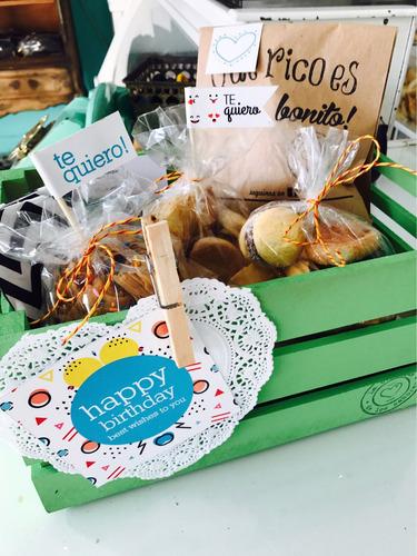 desayuno artesanal + torta - globos - la plata - con envío