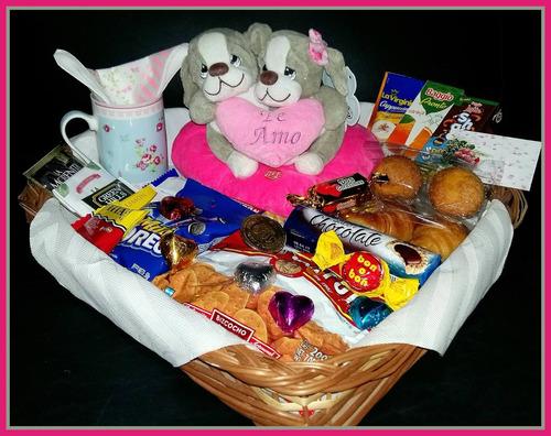 desayuno domicilio san valentin aniversario para dos premium
