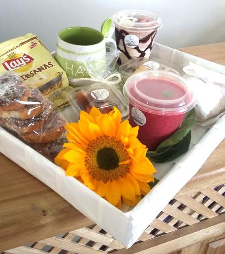 desayuno personalizado brunch refrigerio ensalada