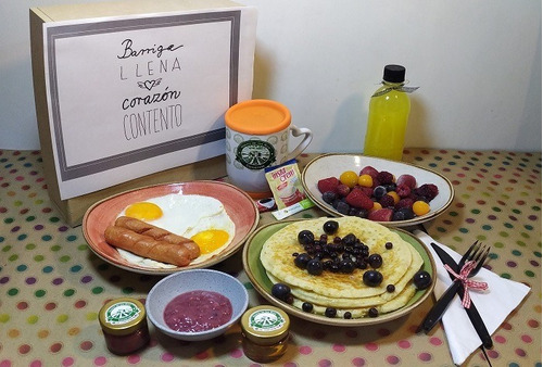 desayuno sorpresa almuerzo cena onces domicilio todo bogota
