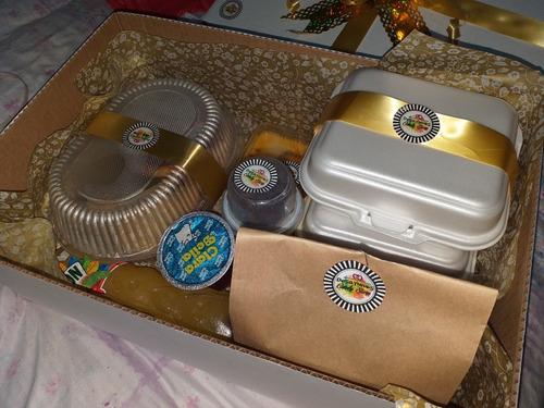 desayunos en caja