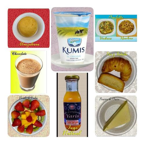 desayunos sorpresa, almuerzos, buffets, paellas y arroces