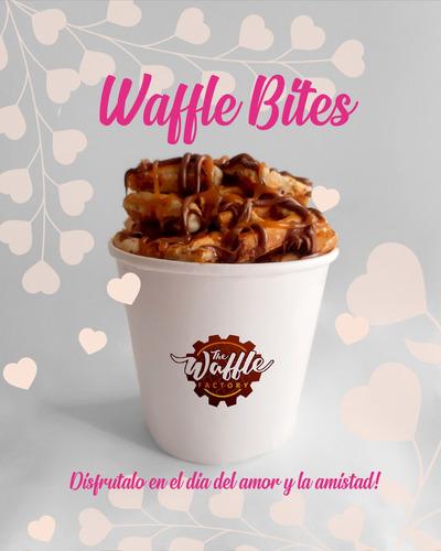 desayunos sorpresa de waffle