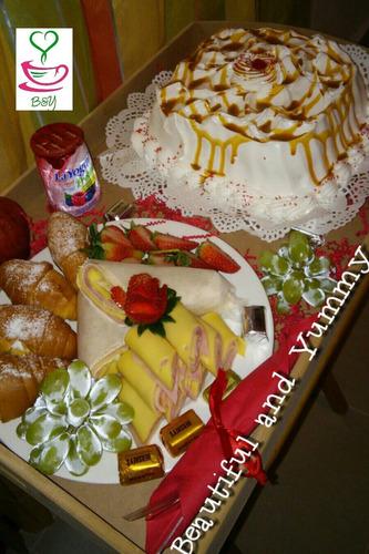 desayunos y bandejas personalizadas