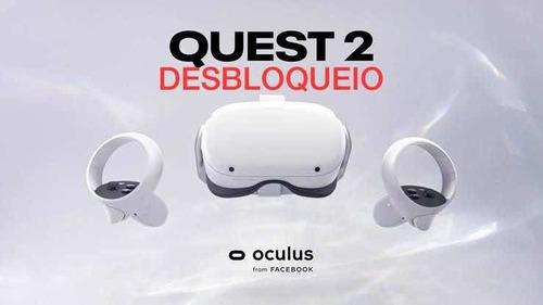 desbloqueio de oculus quest