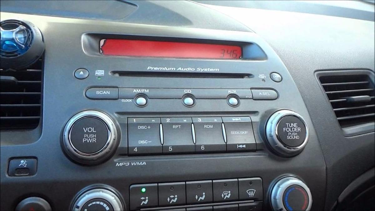 Desbloqueio Enter Code Código Rádio Honda Civic City Fit Crv. Carregando  Zoom.