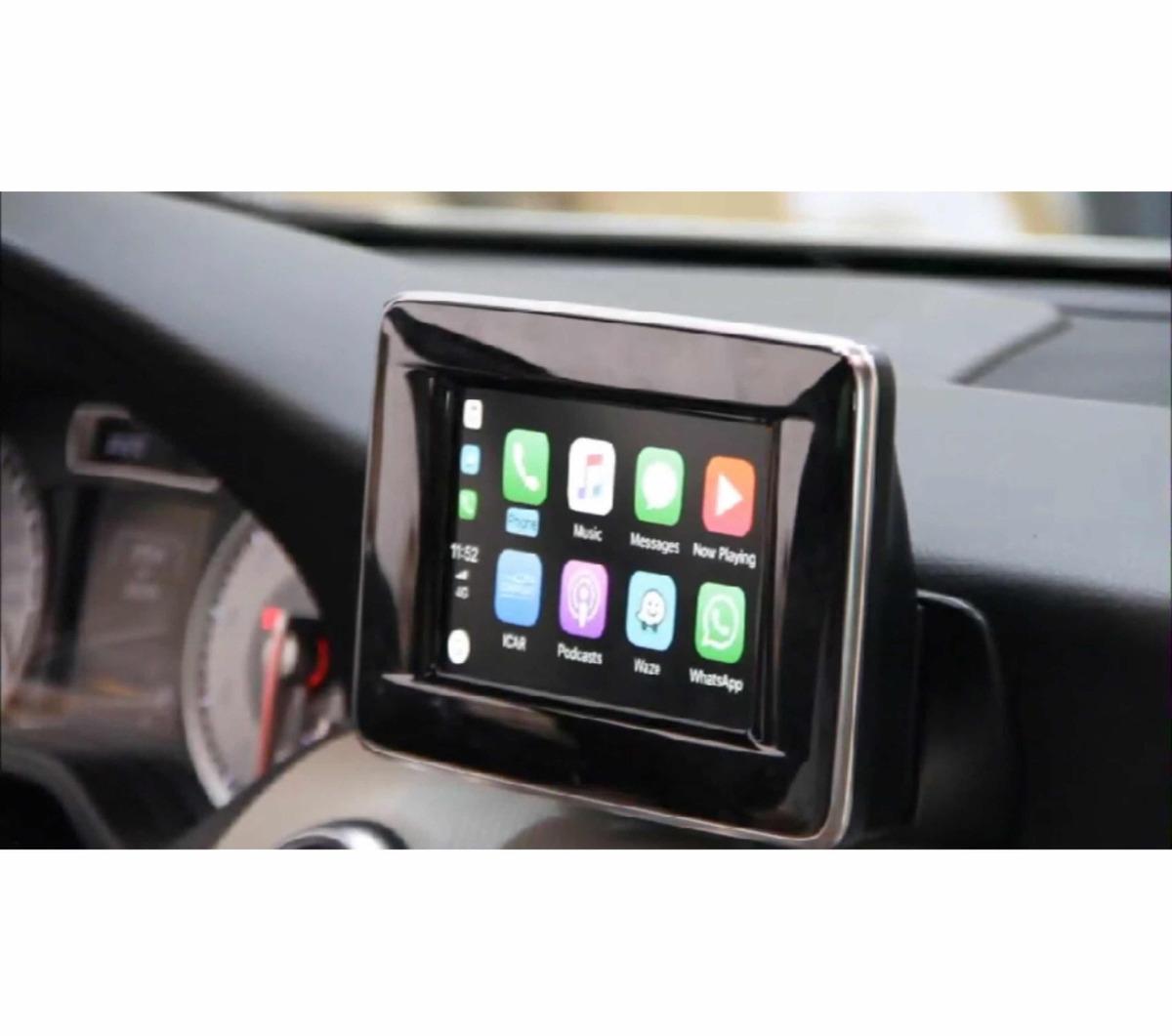 Desbloqueio Mercedes 4em 1 Carplay Android Auto Usb Espelham