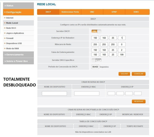 desbloqueio modem powerbox gvt pace v5471 novo método bridge