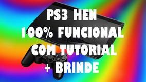 Desbloqueio Ps3 Hen 4 82/4 84 + Brinde