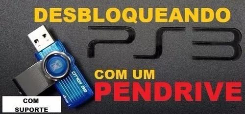 Desbloqueio Ps3 Via Pendrive - 4 82 - De Ofw Para Cfw -