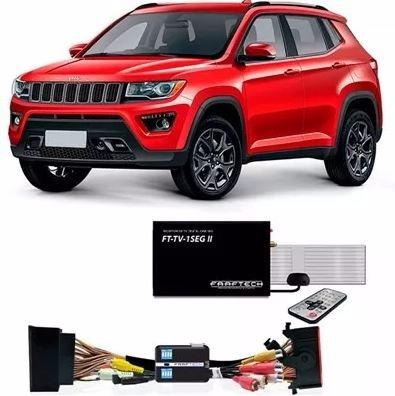 desbloqueio tela jeep compass + tv 1seg faaftech