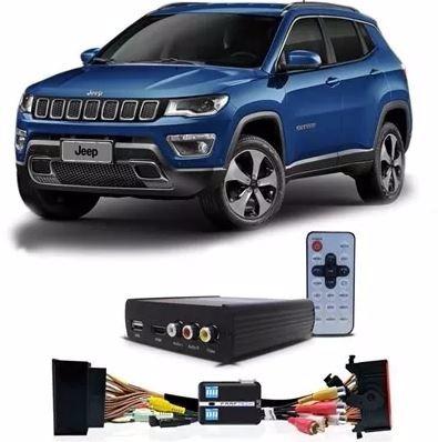 desbloqueio tela jeep compass + tv full hd faaftech