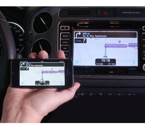 desbloqueio tela jeep compass + tv hd + espelhamento câmera