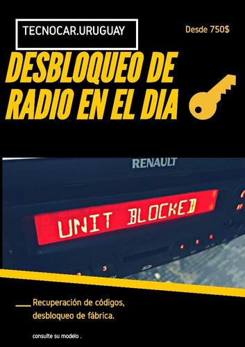 desbloqueo de radio en el día