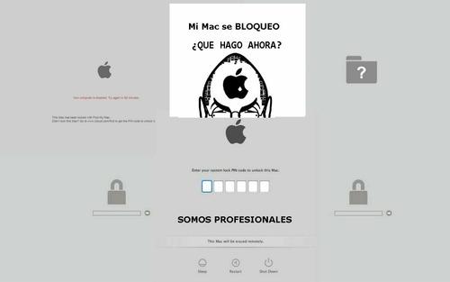 desbloqueo efi macbook reparación  alienware asus hp dell