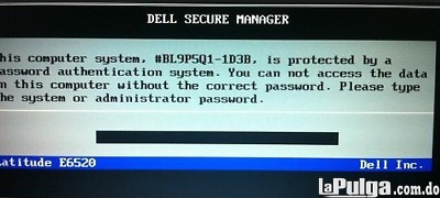 desbloqueo password setup laptop