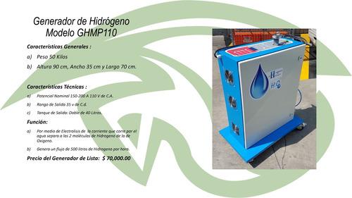 descarbonizador con hidrogeno