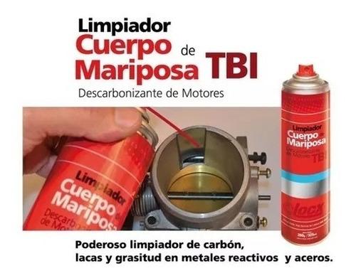 descarbonizante limpia cuerpo mariposa + 2 paños locx 325 ml
