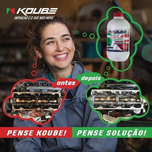 descarbonizante motor hiper flush corretivo koube 500ml