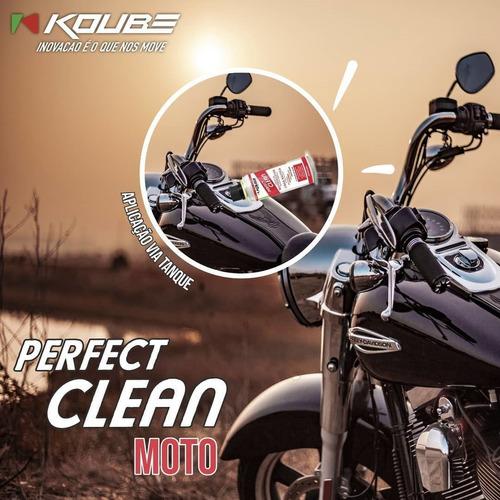 descarbonizante para motos e barcos perfect clean 250ml