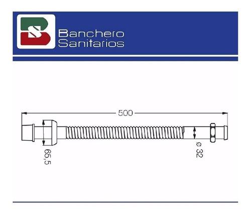 descarga para lavatorio fv flexible modelo 239.02 cromo cta