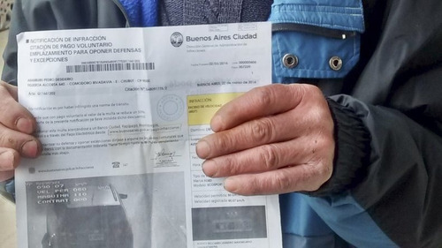 descargo multa - infracción de tránsito - caba - provincia